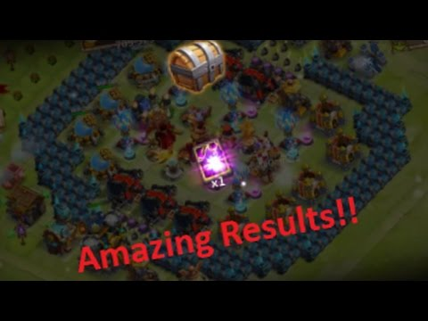 Castle Clash! Opening Up Legendary Hero Cards From Event And Normal LHCs! Great Results!