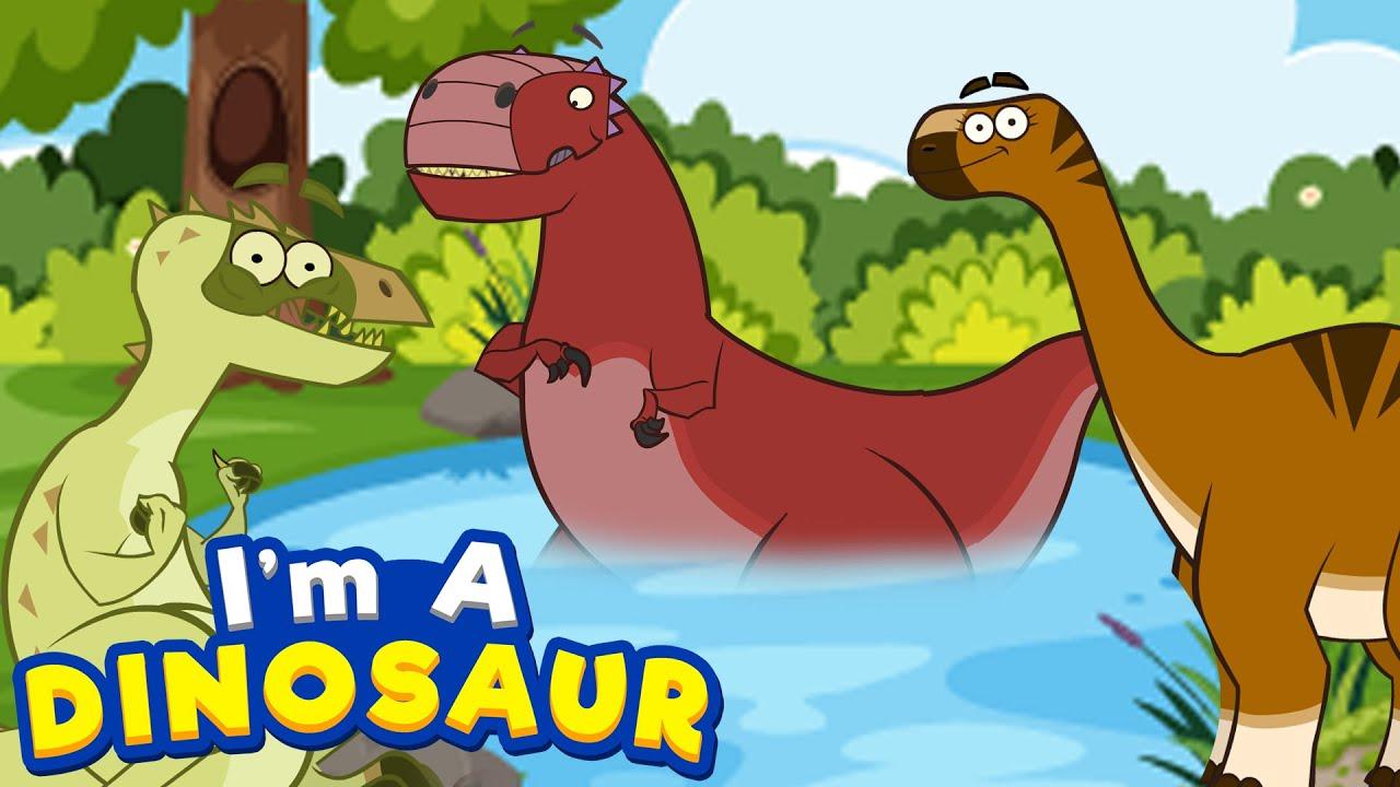 Dinosaur   Adventures Of Abelisaurus & Argentinosaurus   Funny Dinosaur Cartoon For Kids
