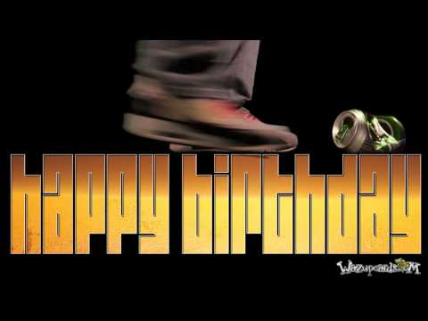 Cool Beer Animation as Happy Birthday greeting