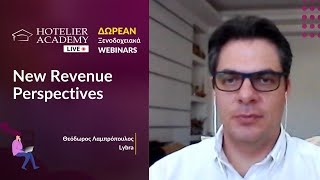 New Revenue Perspectives by Theodoros Labropoulos | Live Free Webinars Οκτώβριος 2020