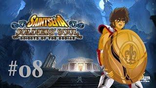 """#08 - Saint Seiya Soldier's Soul: """"La bataille du Sanctuaire prend fin"""" - PS4/FR"""
