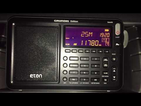 Eton Satellit vs Sony ICF-2001D: Radio Nacional da Brasilia 11780 kHz - winner Eton!