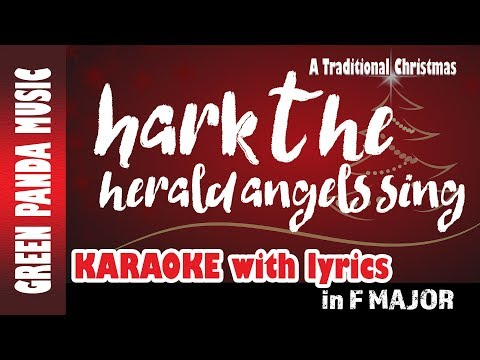 Hark the herald angels sing - Karaoke/Backing Track - From The Traditional Christmas Carols CD