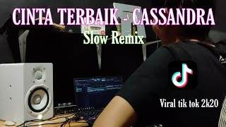 DJ CINTA TERBAIK ( slow remix imp 2k20) VIRAL TIK TOK