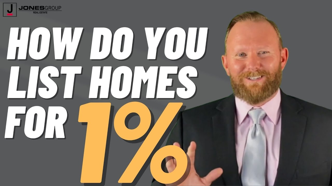 How do We List Homes for Just 1%?