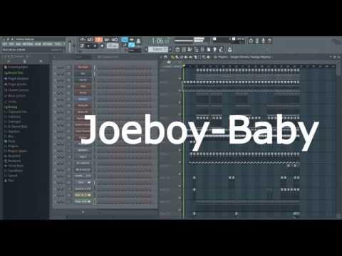 "how-to-make-""baby---joeboy""-|-fl-studio-remake-|-free-flp"