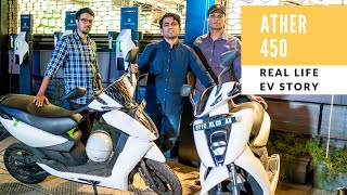 Ather 450 Electric Scooter | Real Life EV Stories thumbnail
