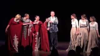 Repeat youtube video Vilniaus universiteto dramos  studija ,,MINIMUM''. Spektaklis ,, FILOPATRIS''