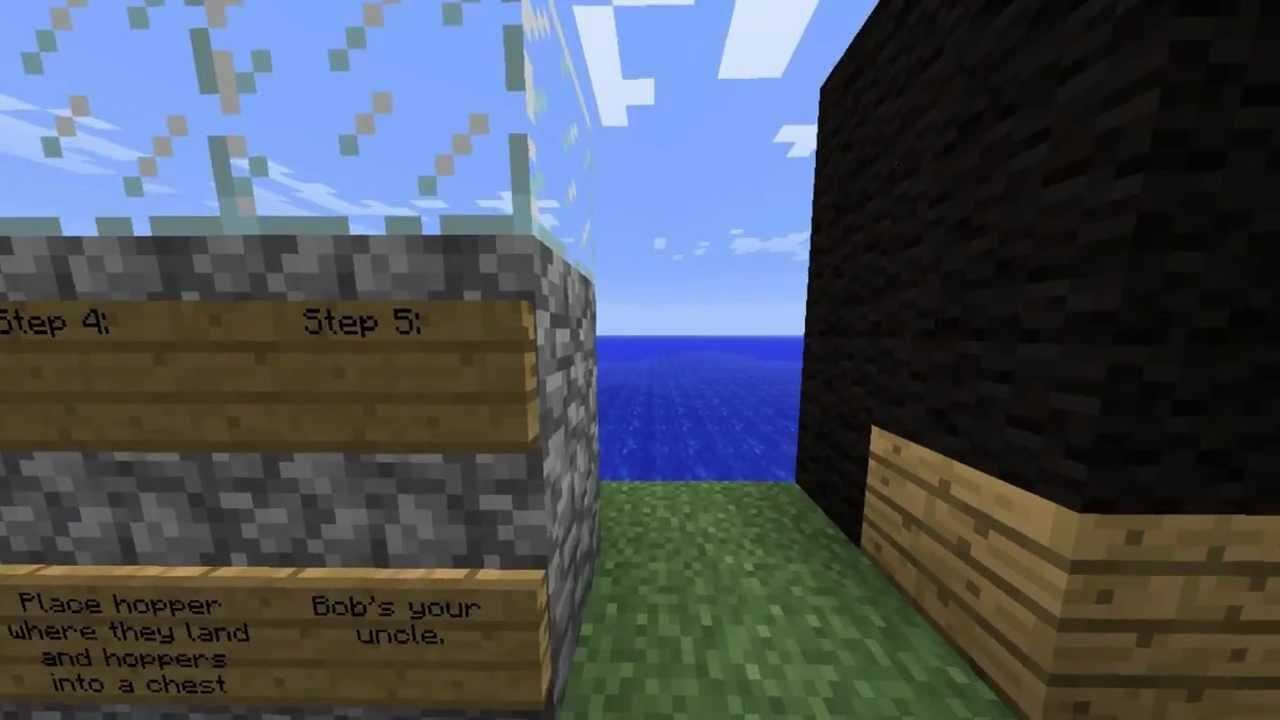 Automatic Bone And Arrow Farm In Minecraft 1 6 Youtube