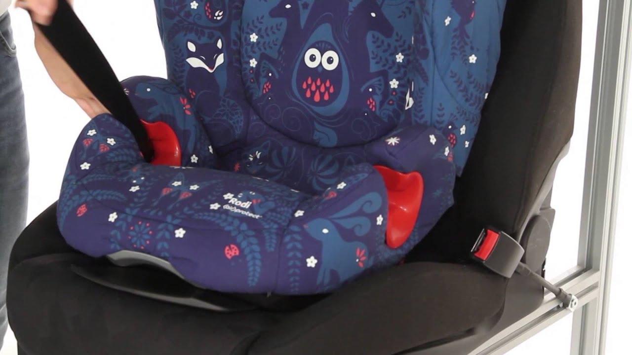 maxi cosi rodi air protect car seat kiddicare youtube. Black Bedroom Furniture Sets. Home Design Ideas