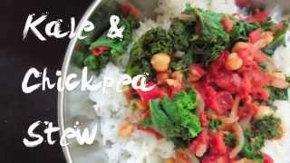 Quick Kale & Chickpea Stew