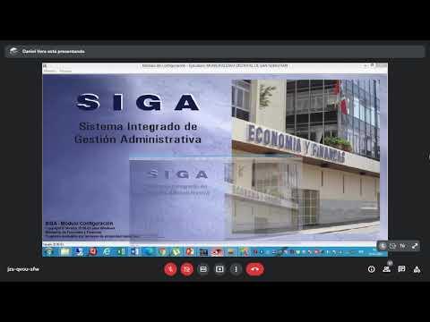 SEGUNDA CAPACITACION SIGA 12 DE JULIO 2021