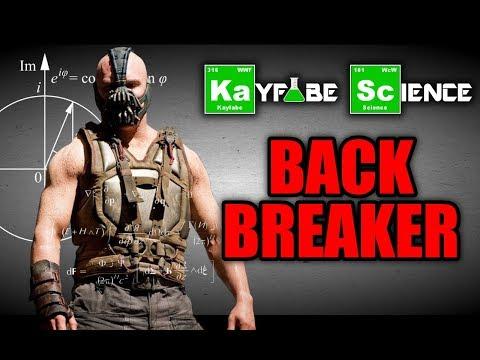 KayFabe Science: The BACKBREAKER