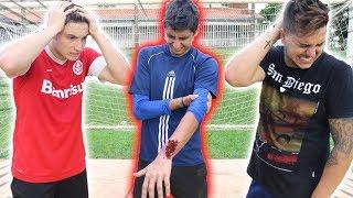 O ARTHUR SOFREU UMA LESÃO GRAVE!! ( #forçamito )