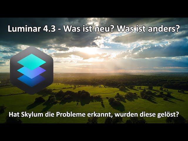 4k // Skylum Luminar 4.3 - Das Update ist Out Now - wurden die Probleme gelöst? - Exif - Zuschnitt