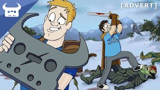 Repeat youtube video RETURN TO SKYRIM | Dan Bull & Harry Partridge