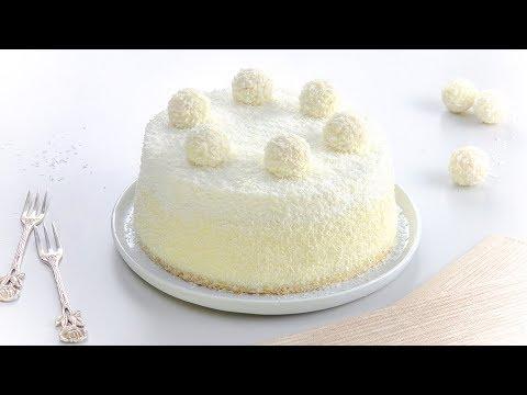 Raffaello Torte - ein Kokos Kuchen Rezept so lecker wie die Pralinen