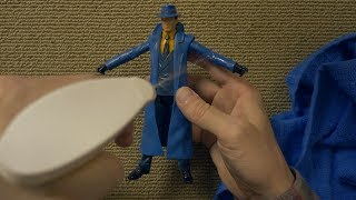 Cleaning & Testing Action Figures | Unintentional ASMR | No Speaking