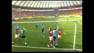 СПАРТАК - Крылья Советов (Самара, Россия) 1:1, Чемпионат России - 2009