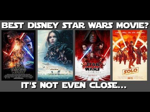 The Best Disney Star Wars movie is... (Let's Talk Some Star Wars)