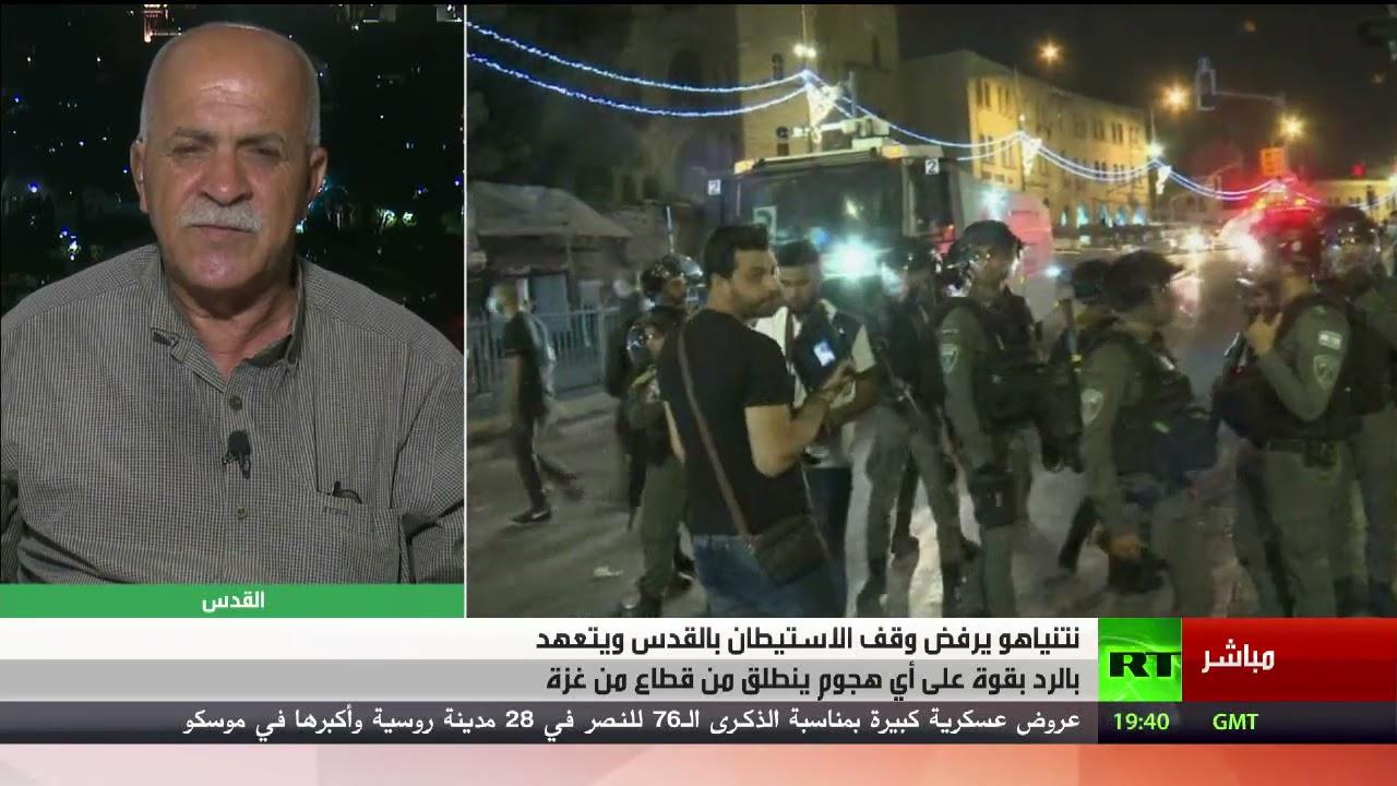 ازدياد حدة المواجهات في القدس بعد تصريحات نتنياهو؟ - تعليق راسم عبيدات  - نشر قبل 5 ساعة