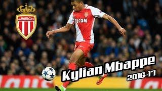 Kylian Mbappe - AS Monaco - Goals 2016-17