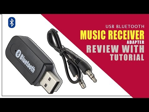 Usb Bluetooth Wireless 3 5mm Stereo Audio Music Receiver Adapter For Car Vehicle