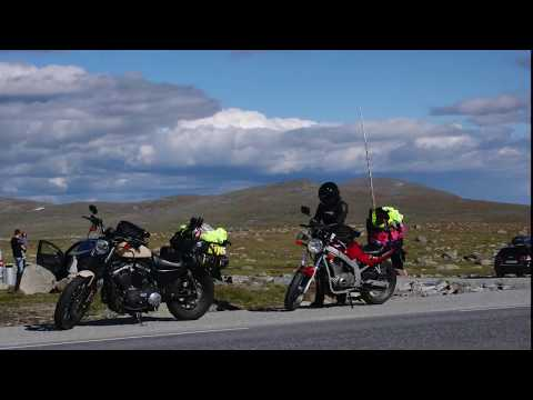 Motorcycle travel in Norway Part 1