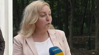 В парке Горького - площадка для выездных церемоний