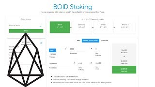 Increase BOID (EOS) CPU Mining Profits with Staking