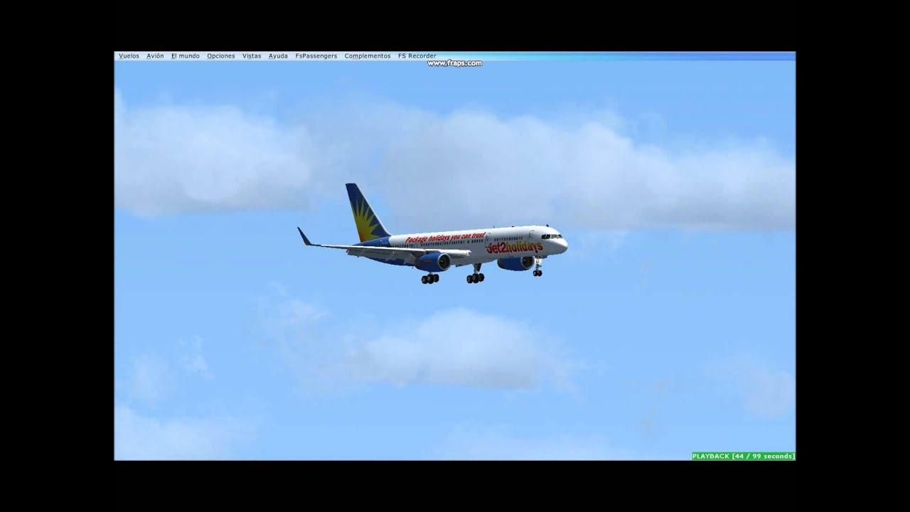 Jet2 Holidays Boeing 757 For Fsx – Dibujos Para Colorear