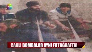 Canlı bombalar aynı fotoğrafta!