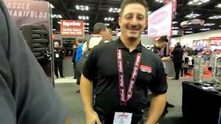 Blue goose, TI Automotive, And the Edelbrock Booth at PRI