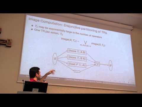 ICAPS 2013: Álvaro Torralba - Transition Trees for Cost-Optimal Symbolic Planning