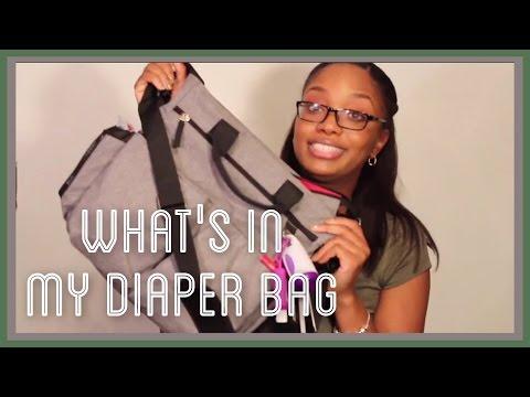 #212: WHATS IN MY DIAPER BAG - SKIPHOP DIAPER BAG