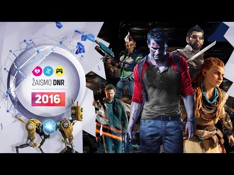 Žaismo DNR - Laukiamiausi 2016