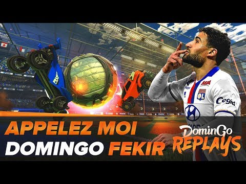 Domingo Fekir ! - (Rocket League avec Jiraya, Xari, Zank, Kenny et Théo)