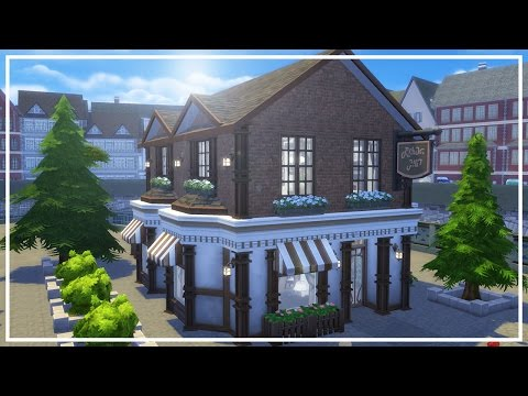 WESTBOOKS STORE & CAFE // The Sims 4: Speed Build