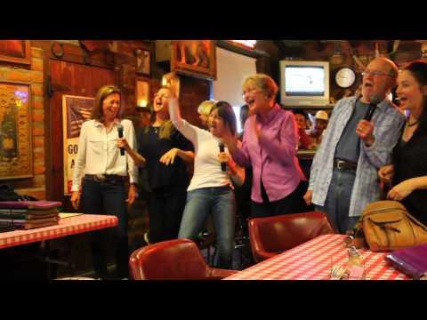 Karaoke with Circle Z Guests at the Wagon Wheel