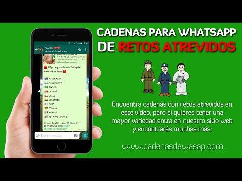 Retos De Whatsapp Atrevidos Cadenas T
