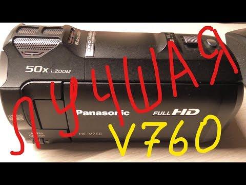 Видеокамера Panasonic HC-V760 обзор
