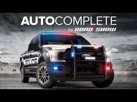 AutoComplete: Ford unveils first pursuit-rated pickup