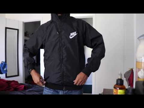 DHGATE $8 NIKE WINDRUNNER REVIEW + TRY ON