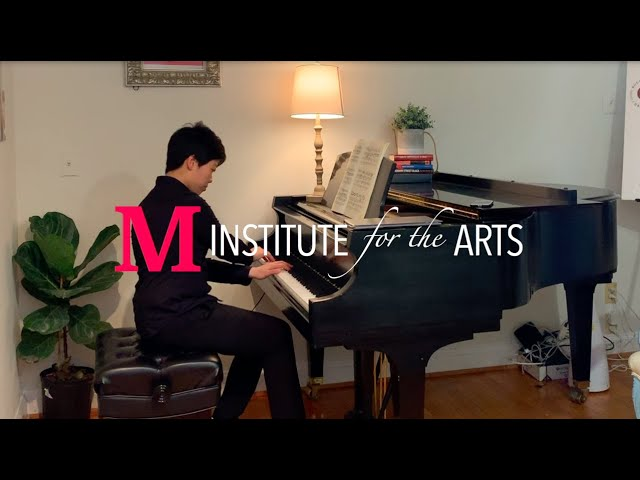 M4Arts Piano Lesson with Thomas Pandolfi (Chopin Piano Concerto No. 1, 1st Mvmt, Part 1)