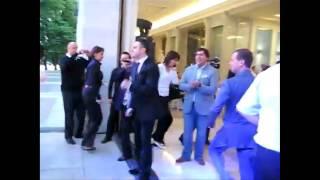 Medvedev is dancing for Obama