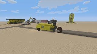 Redif Du Live construction d'engin de chantier #5 Rouleau Compresseur et Début de la Grue