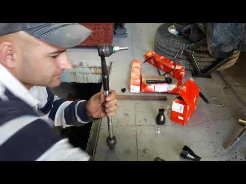 Замена рулевых тяг и наконечников Опель Вектра С