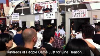 Tokyo Ramen Show (Ramen Festival en Tokio)