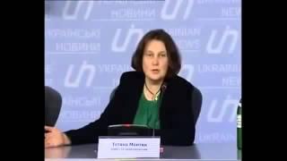 Татьяна Монтян Кровь Донбасса на руках Ирины Фарион