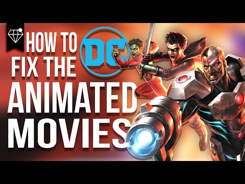 How to fix the DC Animated Movies